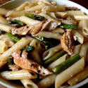 Asparagus and Chicken Pasta photo by Jack