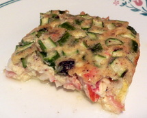 Asparagus and Crab Quiche photo by Diane